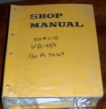 Komatsu WA450-5L WA480-5L Wheel Loader Shop Manual
