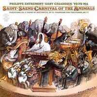 YO-YO MA - CARNIVAL OF THE ANIMALS  CD NEW SAINT-SAENS,CAMILLE