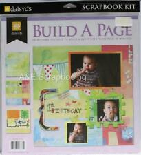 Wonder Years Birthday Page Build A Page Scrapbook Kit by Daisy D's