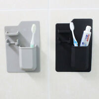 Silicone Toothbrush Holder Bathroom Organizer Toothpaste Razor Storage Stand