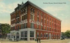 1915 Palmer House Hotel, Grand Island, Nebraska Postcard