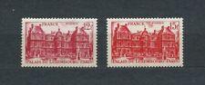 PALAIS DU LUEMBOURG - 1948 YT 803 à 804 - TIMBRES NEUFS** MNH LUXE