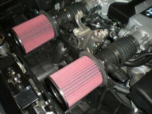 LAMBORGHINI GALLARDO LP AUDI R8 5.2L V10 BMC HIGH FLOW REPLACEMENT AIR FILTERS
