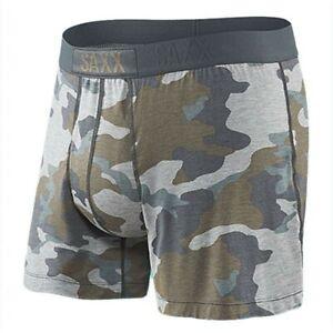 SAXX Free Agent Men's Underwear Grey Camo Size Small