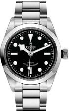 79500-0001 | BRAND NEW TUDOR HERITAGE BLACK BAY 36 BLACK DIAL STEEL MEN'S WATCH