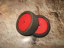 "RC AKA 1:10 Slingshot 2.2"" DE Wheels & Buggy Front Tires 4WD 14 mm (2) See Notes"