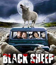 Horror Comedy Movie - BLACK SHEEP - DVD - NEW ZEALAND MOVIE - All Regions Aust