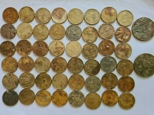 USA UNITED STATES coins €50 Dollars  $1 coins assorted conditions FREE P&P