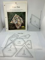Quilting Template Texas Star