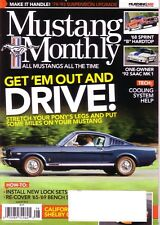 """Mustang Monthly August 2014 '68 Sprint """"B"""" Hardtop '92 SAAC Mk1 '08 Shelby GT-C"""