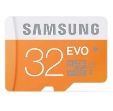 Samsung EVO 32GB Micro SD SDHC SDXC 48MB/s UHS-I Class10 Memory Card