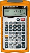 Calculated Industries 4065 Construction Master Pro Advanced Construction Math Ca