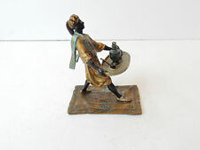 Vienna Cold Painted Bronze Depicting Arab Servant with Tray Signe