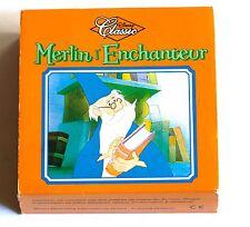 Jouet Mc Donalds Happy Meal Merlin l'Enchanteur livre tour de magie figurine