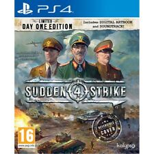 Sudden Strike 4 Day One Limited Edition Sony Ps4 PlayStation 11th Aug