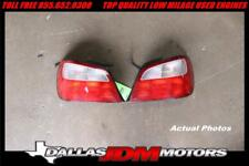 02-03 JDM SUBARU IMPREZA WRX STI RH LH REAR BRAKE TAILLIGHTS OEM SEDAN