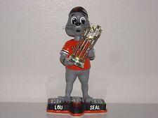 LOU SEAL San Francisco Giants Mascot Bobble Head 2014 WS Champs Trophy MLB** New