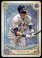 2020 Gypsy Queen Christian Yelich Tarot of the Diamond Insert #TOD-10 Brewers