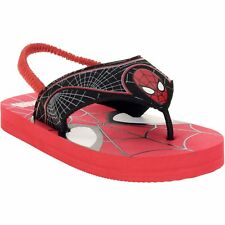 Spiderman Flip Flop Sandals Boys Shoes Size Small 5-6