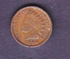 "USA COIN, 1 CENT, 1899  ""INDEAN HEAD"""