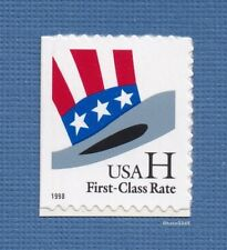 """Scott #3269 """"H"""" Rate Hat - Non-denominated 33c (Booklet Single) 1998 Mint Nh"""