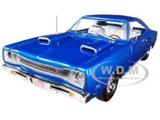1969 DODGE CORONET R/T B5 BLUE 50TH ANNIVERSARY LTD ED 1/18 BY AUTOWORLD AMM1116