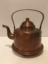 Vintage Copper Tea Kettle OPA Helsinki 1-1/2 L Peltiteos O.Y.