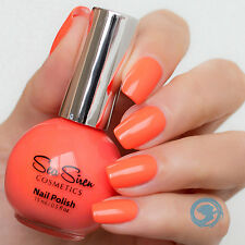 SEA SIREN COSMETICS Clownfish Conga 15 ml Bubble ORANGE Nail Polish VEGAN Aussie