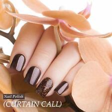 Women Nail Polish for Girl Manicure nontoxic Nail Art Color Brown Karma Organic