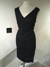 size 20 plain linen tunic dress from marks and spencer brand new black