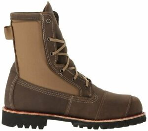 """NEW Bates 8826 Men's BOMBER Freedom 8"""" Work Boot BROWN, SIZE 9-MED - FREE SHIP"""