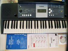 Yamaha YPT-230 Digital Portable Piano Keyboard. Tested works. Original box+acces