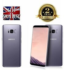 Brand New Samsung Galaxy S8 G950F Orchid Grey 64GB UNLOCKED 4G LTE SIM FREE