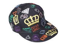 Baseball CAP Flat Cap Corona Multi Taglia XL