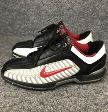 Nike Zoom Elite 2 Golf Shoes Men's 336036-063 Black Red Leather Us Size 9.5
