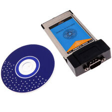 WCH35X PCMCIA to RS232 Serial I/O DB9 USB Port Cardbus Card Converter for Laptop