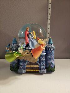 Disney Sleeping Beauty Musical Snow Globe Fairy Godmothers Once Upon the Dream