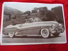 1952 BUICK ROADMASTER CONVERTIBLE    11 X 17  PHOTO  PICTURE
