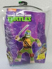 Teenage Mutant Ninja Turtles Leonardo Child Costume Size Boys Medium Ages 8-10