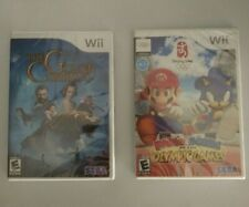 2 Sega Wii Video Games Mario & Sonic At The Olympic Games / The Golden Compass