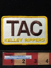Advertising Patch ~ TAC KELLEY RIPPERS ~ Heavy Equipment (I Think)  626