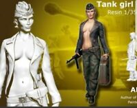 1:35 1/35 Resin WWII German Fantasy Tank Girl Figure Model kit (1 Figure)