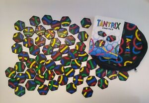 Tantrix Tile Game. Complete. With Carry Bag