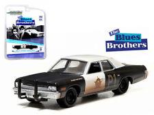 Blues Brothers Bluesmobile 1974 Dodge Monaco Diecast 1:64 Greenlight 3 inch