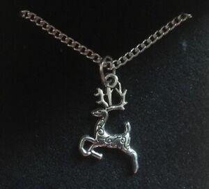 Reindeer Pendant Necklace
