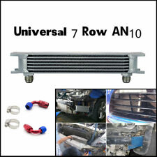 248mm 7 Row AN10 Aluminum Engine Transmission Oil Cooler Cooling Silver