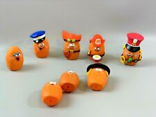 Lot of 8 1988 Nuggets Buddies Happy Meal Toys Incomplete Set