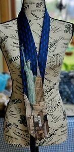 Danggi Man New York City Tie Icons Statue of Liberty