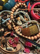 7.5 LBS HUGE LOT VTG -Now Fashion Necklaces Bracelets Wearable BOHO +++ EUC