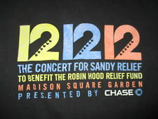 12 12 12 SANDY RELIEF (LG) Shirt CLAPTON GROHL JOEL McCARTNEY STONES WHO VEDDER